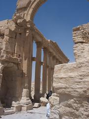 Triumphal Arch at Palmyra. (II)