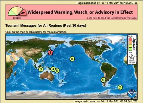 8.9 Earthquake In Japan Generates Tsunami