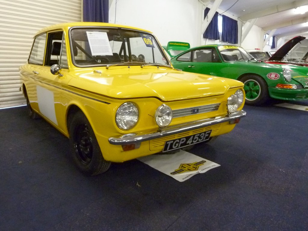 TGP 453F - 1968 Hillman Imp Rally Car