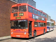 104-0410_IMG (radclifferaz) Tags: bn busgarage busdepot greatermanchestertransport firstmanchester gmbuses leylandatlantean boltondepot greatermanchesterbuses boltongarage