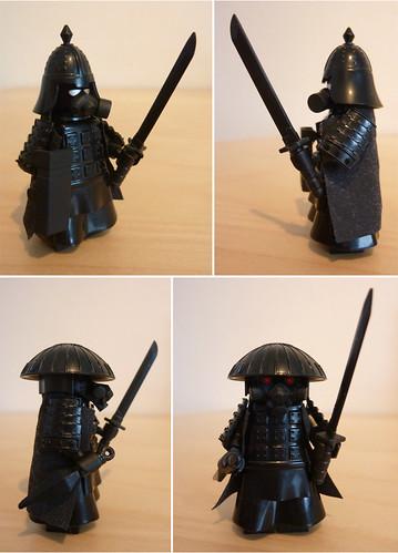 Custom minifig Apoc Samurai custom lego minifigures