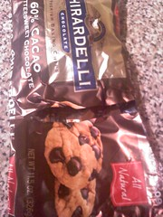 Chewy Ghirardelli Cookies