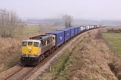 083, Donamon, 4 March 2011 (Mr Joseph Bloggs) Tags: irish ir rail ie liner dfds 083 071 donamon