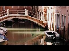 light (viman57 -) Tags: venice reflection barche ponte acqua venise venezia riflessi venetia canale venessia