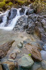 Wet feet. (Ollie Kershaw ) Tags: park mountain lake motion blur water grass rock stone creek canon eos leaf stream long exposure slow district wide tokina national valley cumbria 7d shutter ultra