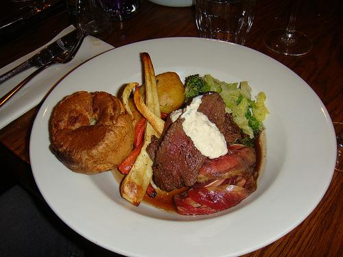 The Britannia - Roast beef