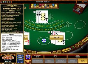 Spanish Blackjack Rules