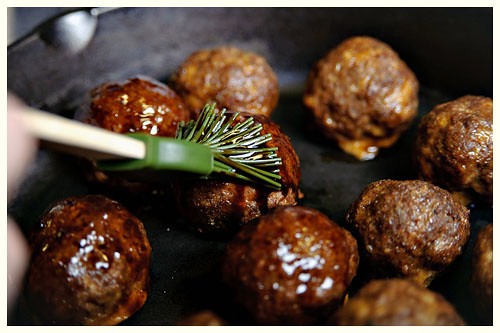 Cherry Coke & Jalapeno Meatballs