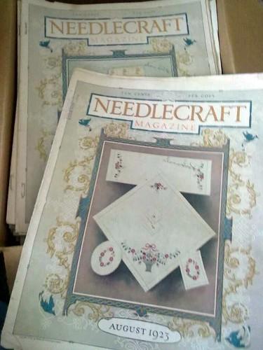 Old Needlecraft Magazines