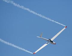 20110306_9572 Bob Carlton flying his SALTO (williewonker) Tags: aircraft australia victoria airshow salto glider avalon sailplane 2011 smoketrail bobcarlton