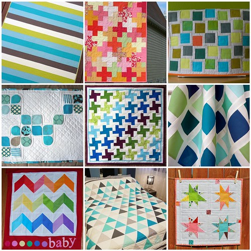 Solid Mini Quilt Inspiration