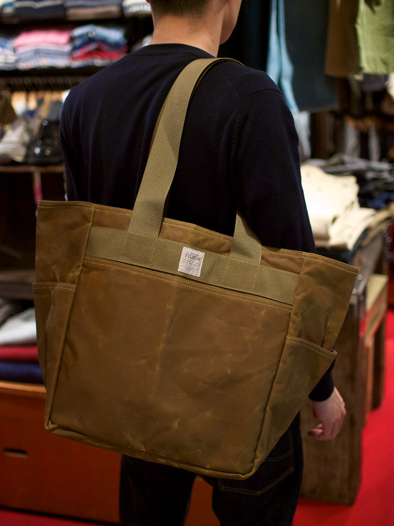 Filson / Tin Cloth Tote Bag