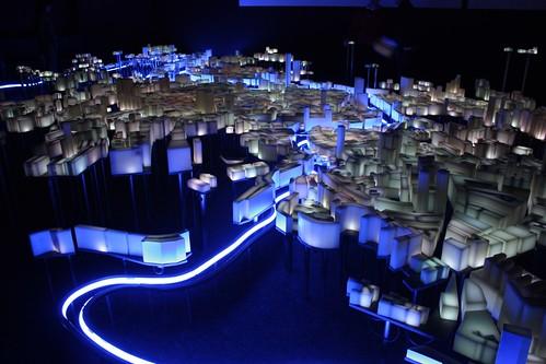 Maqueta de la ciudad de Bilbao