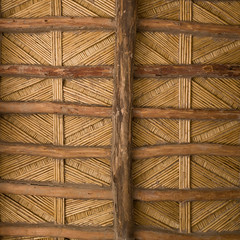 Ceiling details, UK flag-a-like edition! (Daveybot) Tags: travel vacation holiday detail construction honeymoon details ceiling oasis morocco maroc ceilings ksar oases kasbah kasbahs ksour