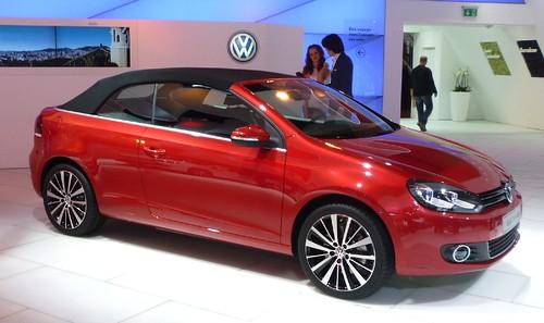 Volkswagen Golf cabrio 2011