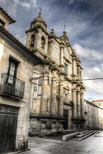San Bartolomé church. Pontevedra. Galicia. Iglesia de San Bartolomé.