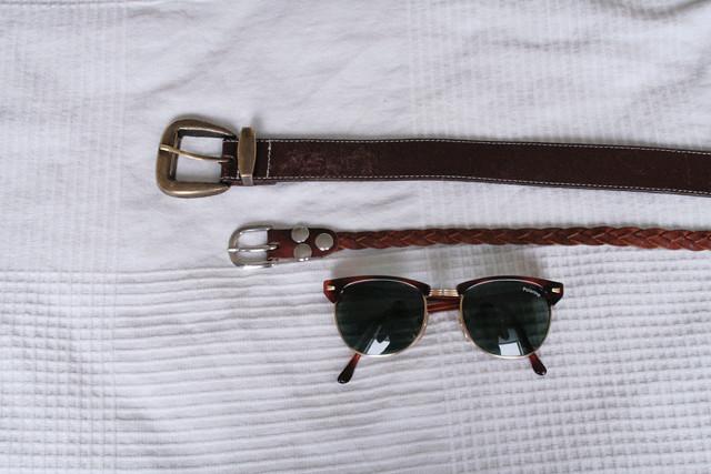 kirpparivyöt ja lasit