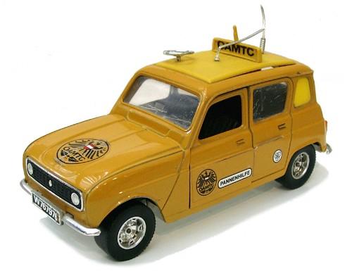 Burago Renault 4 OAMTC