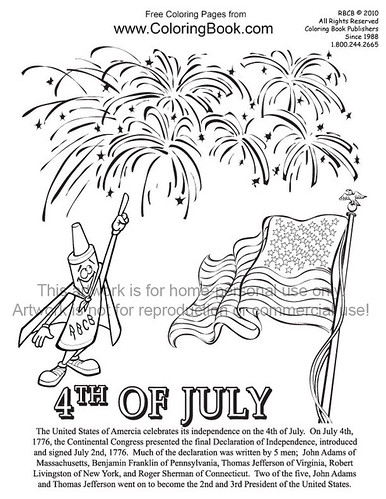 free fourth of july coloring pages. 4th of July--free-coloring-