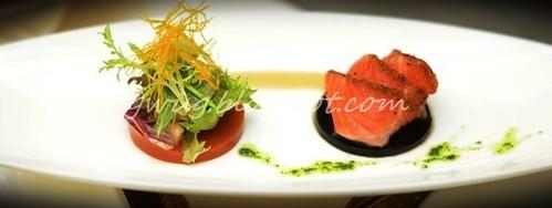 Tataki of Salmon