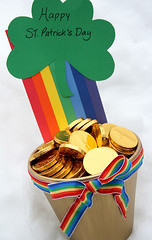 st. patrick's day.... (duckyhouse) Tags: rainbow chocolate stpatricksday potofgold