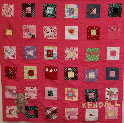 mamaka mills memory quilt, clothing quilt, recycled quilt 12