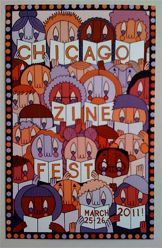 Chicago Zine Fest by billy craven