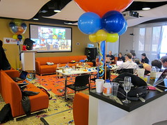 Firefox 4 Launch Party in Ten Forward