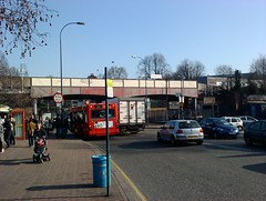 Lewisham in the sunshine