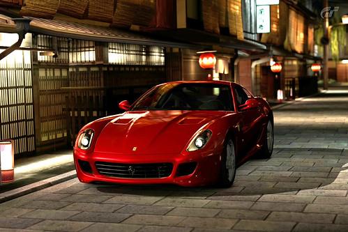 Ferrari 599 GTB Fiorano in Kyoto