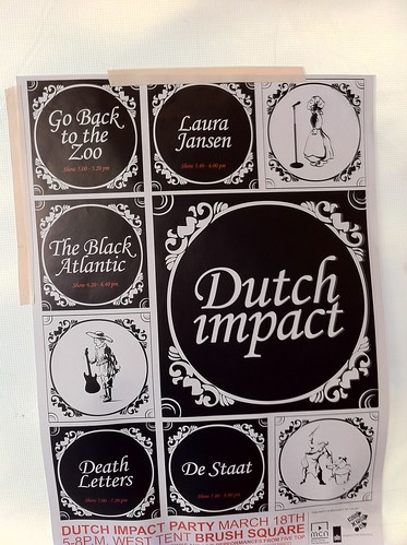 Dutch Impact Party Schedule