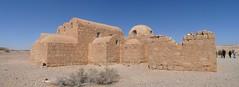 Qusayr 'Amra, Jordan rear (army.arch) Tags: panorama castle heritage desert stitch unesco worldheritagesite bathhouse easterndesert qusayramra umayyad quseiramra microsoftice jordanqasramra