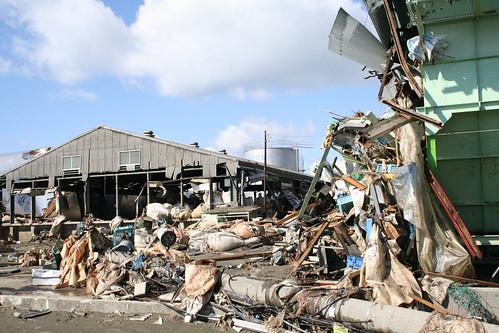 2011.03.27宮城県石巻市災害復興と街の様子