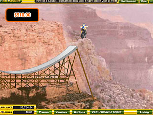 free Evel Knievel slot bonus game 3