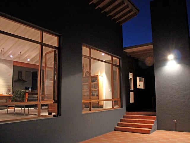 Noche en la Casa Azul