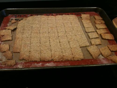 Dilled Havarti Crackers