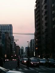 恵比寿南交差点(2011/3/30)