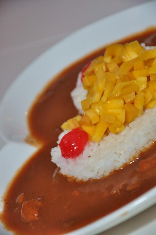 Tenshi Cafe food