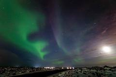 Aurora Borealis Iceland @ Blue Lagoon (Arnold van Wijk) Tags: night geotagged iceland bluelagoon northernlights auroraborealis isl grindavík noorderlicht ijsland grindavik geo:lat=6388306800 geo:lon=2244822300