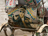 Elvis on the Back of a Bangladeshi Rickshaw? (uncorneredmarket) Tags: transport bollywood rickshaw bangladesh rickshawart rajshahi
