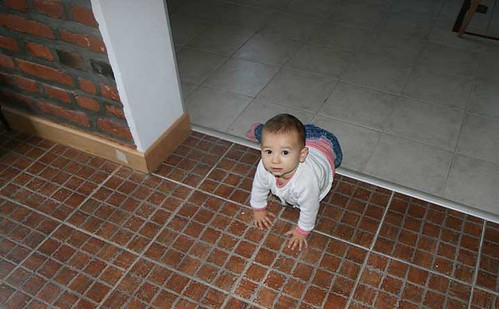 Zalia-crawling-1st-April-2011