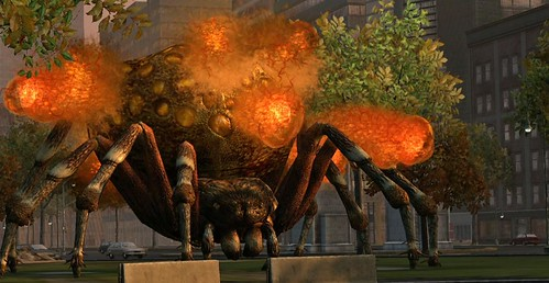 Earth Defense Force: Insect Armageddon for PS3: Bomber Spider