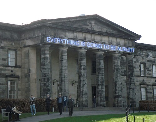 Scottish National Gallery of Modern Art frontage close