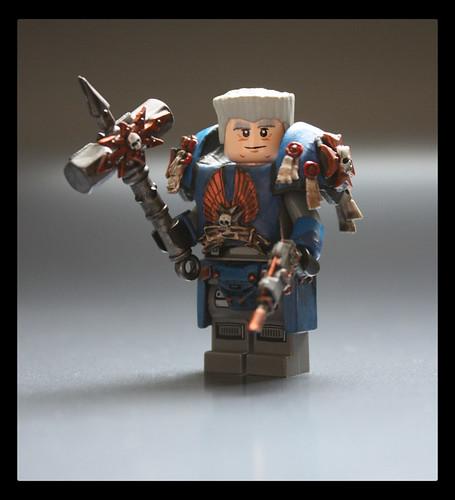 Custom minifig Captain Argus custom minifig