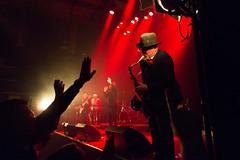 Madness (morten f) Tags: madnes band ska 2tone sax saxofon saxophone live stage concert 2016 oslo norge norway konsert rockefeller audience publikum