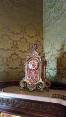 Clock (Terry Hassan) Tags: flaglermuseum usa florida palmbeach whitehall mansion house luxury splendour design clock ornimental red gold