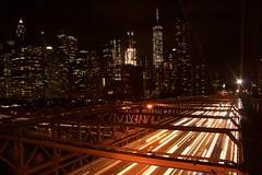 Brooklyn light stripes,New York (giastronaut) Tags: longexposition brooklyn newyork