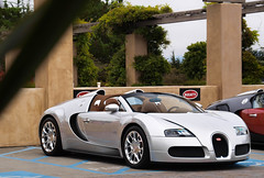 Bugatti Grand Sport (GHG Photography) Tags: auto car speed silver french spider italian power fast convertible automotive olympus spyder 164 expensive bugatti luxury rare mph exclusive supercar fastest eb sportscar w16 horsepower 1001 veyron gransport droptop etoire grandsport hypercar e520 fastestcarintheworld ghgphotography