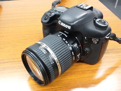 CANON EOS 7D と 15-85mm USM レンズ