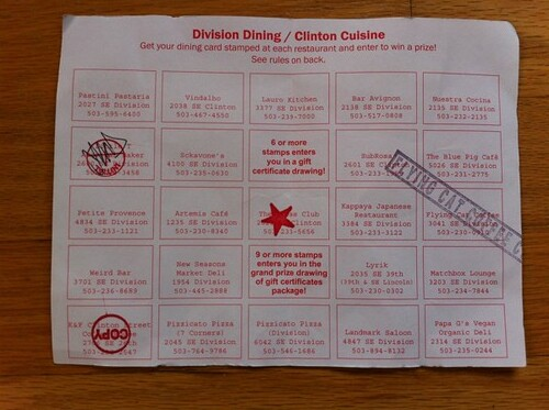 Division-Clinton restaurant passport